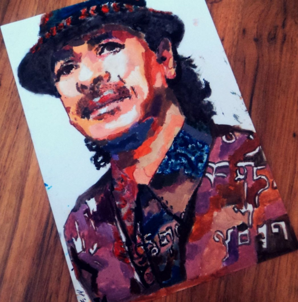 Carlos Santana by ivadell